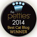 Winner Best Cat Blog Dogtime Petties 2014