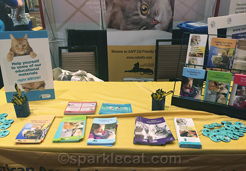 The AAFP booth at BlogPaws