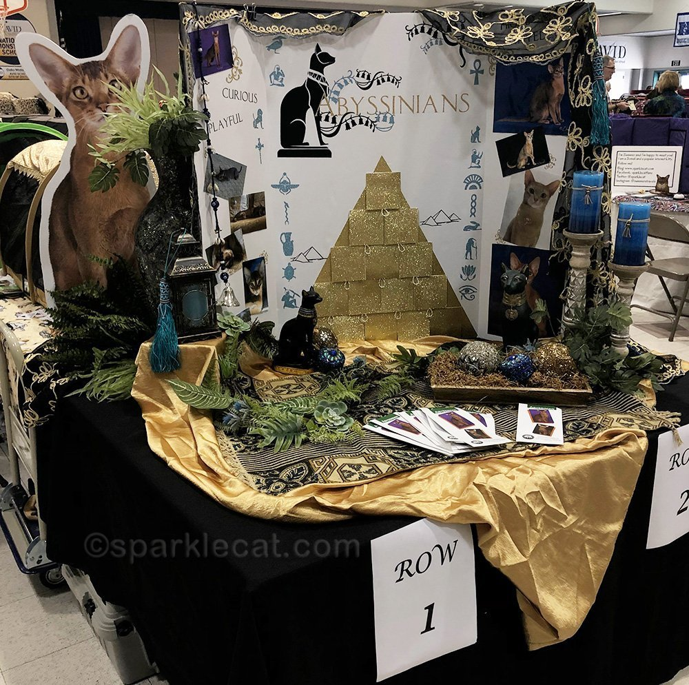 Abyssinian breed booth