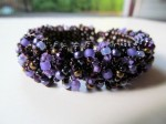 Custom Caterpillar Beadwoven Bracelet from Beaded Tail