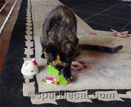 Just call her Hello Kitty Lego wrecker