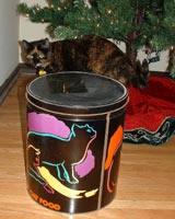 There's a cat on the tin - it HAS to be for us!