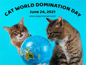 Cat World Domination Day 2021 Small