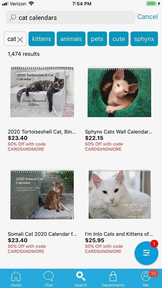 cat calendars on zazzle