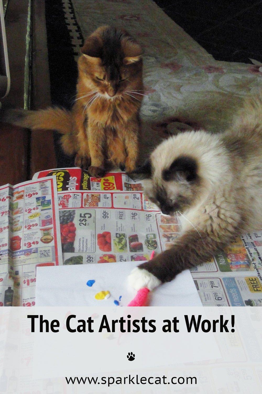 Caturday Flashback Art