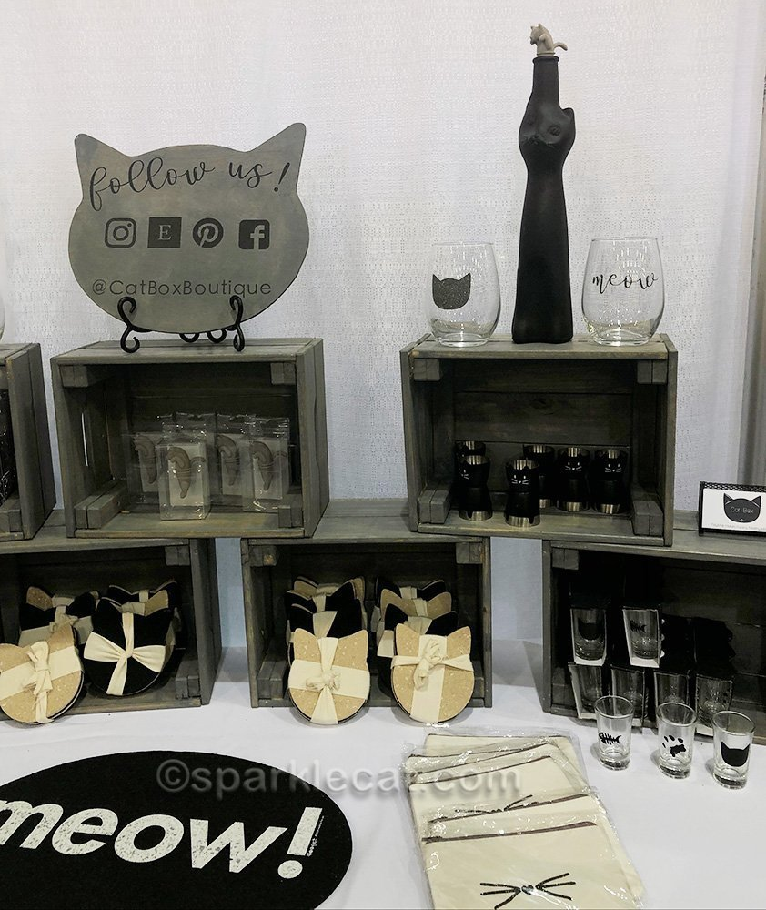 Cat Box Boutique booth