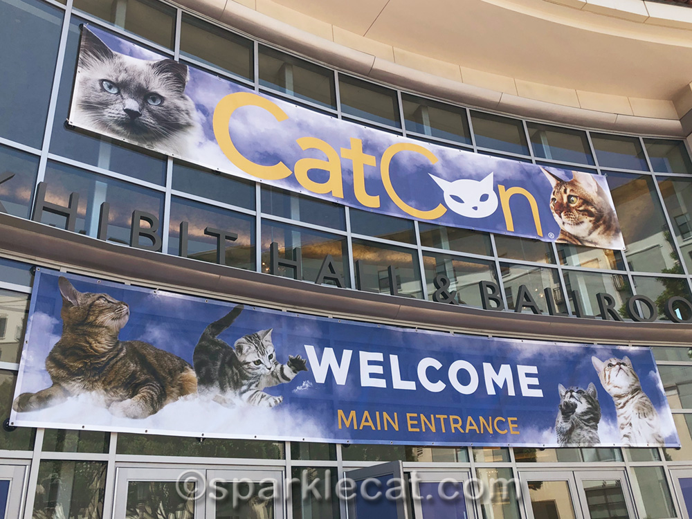 The entrance to CatCon