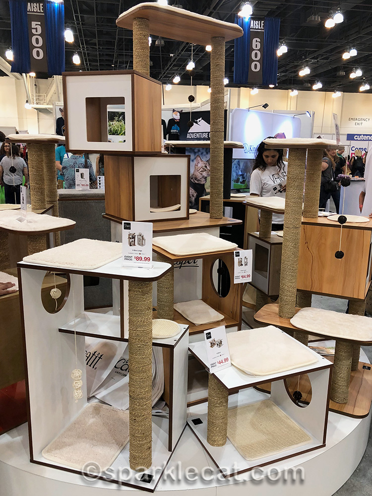 Cat furniture at CatCon