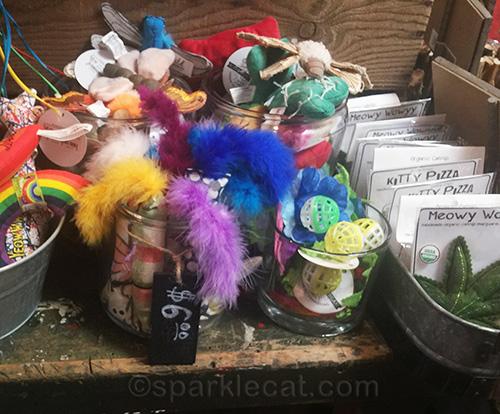 cat toys at Rosie Bunny Bean