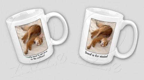 Coffee Cat Mugs