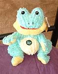 Dumb plush frog