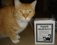 No good kitty treats - the final insult!