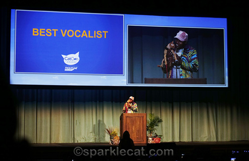 moshow and ravioli at the CatCon awards
