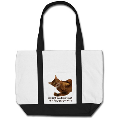 No Declaw Impulse Tote Bag