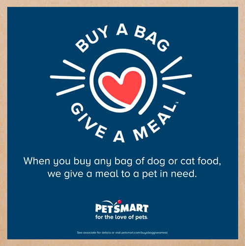 logo for the Buy a Bag, Give a Meal program