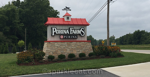 Purina Farms entrance