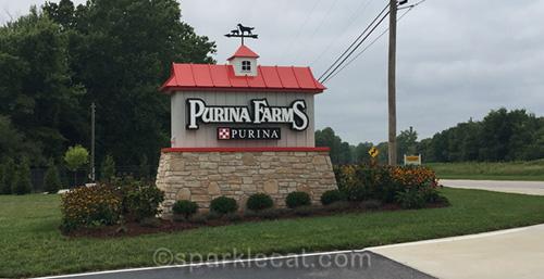 Purina Farms entrance
