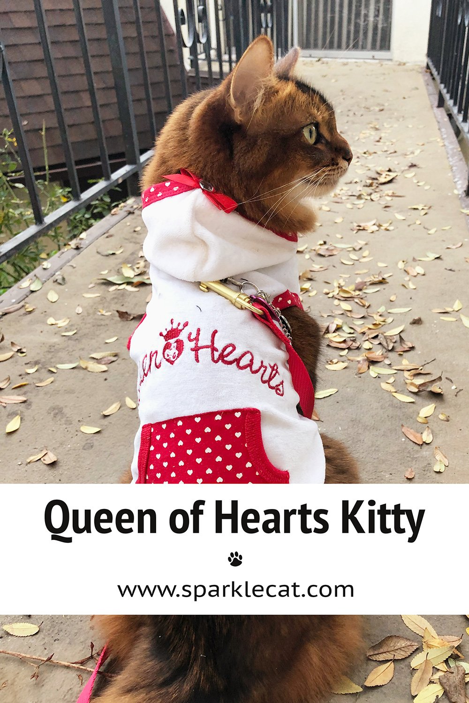 Queen of Hearts Selfie