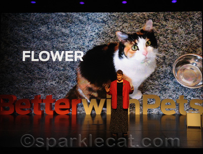 Dr. Robin Downing and Flower