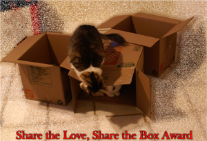 Share the Love, Share the Box Award