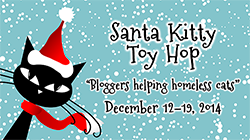 Santa Kitty Toy Hop Small