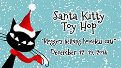 Santa Kitty Toy Hop Small