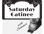 Saturday Catinee: Starring ME!