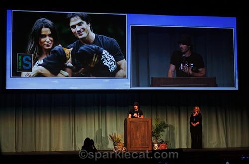 Ian Somerhalder at CatCon