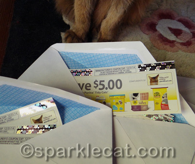 10 coupons in each envelope!