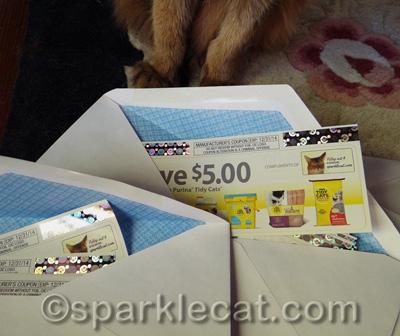 10 coupons in each envelope!