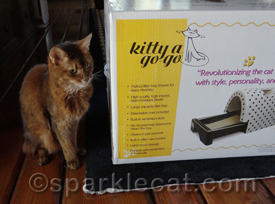 My human also saw these at BlogPaws