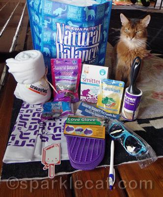Barkworld Swag Bag Giveaway Sparklecat