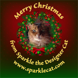 Merry Christmas from Sparkle - Small