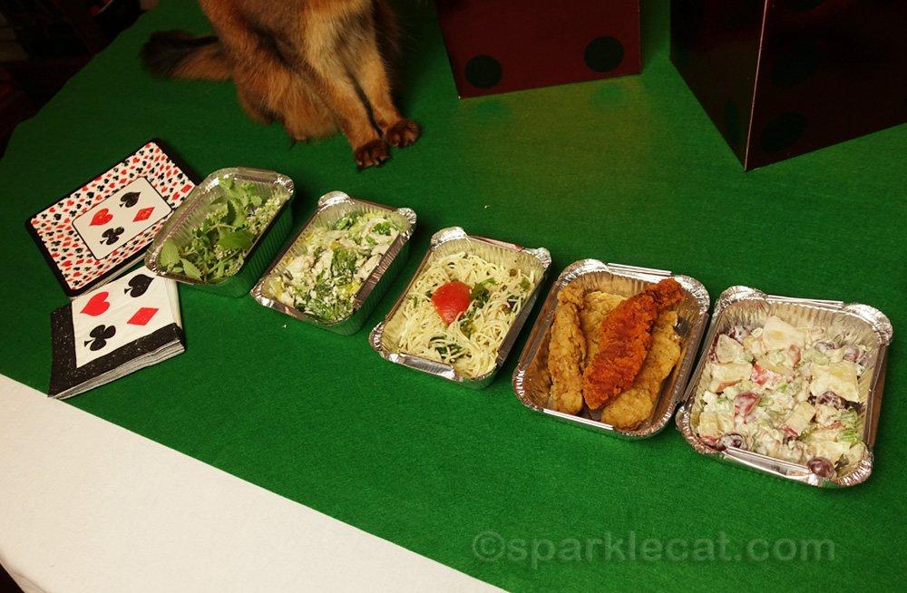 somali cat feet and las vegas style buffet