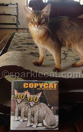 I'm no copycat and neither is this book!