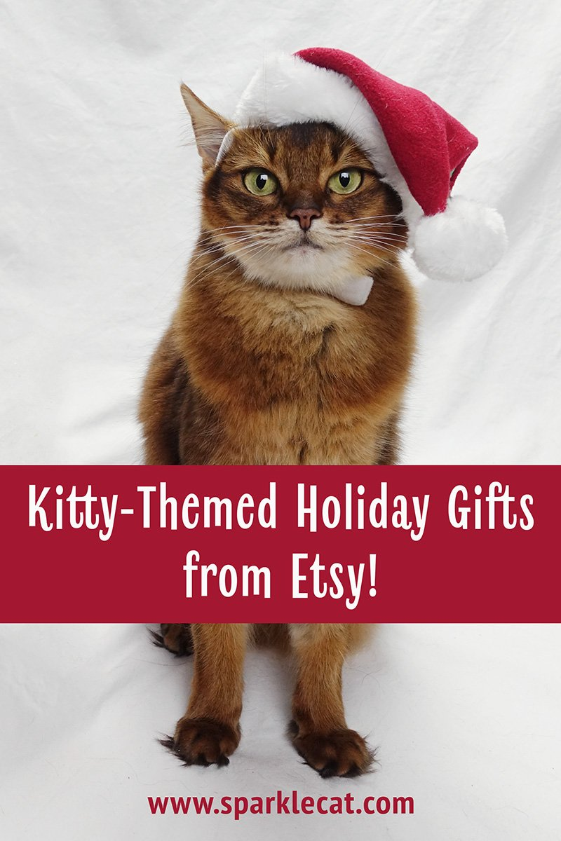 Kitty Themed Holiday Gifts From Etsy