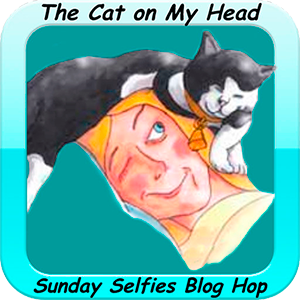 Sunday Selfies with the Cat on My Head