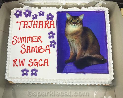 Supreme cake for Tajhara Summer Samba