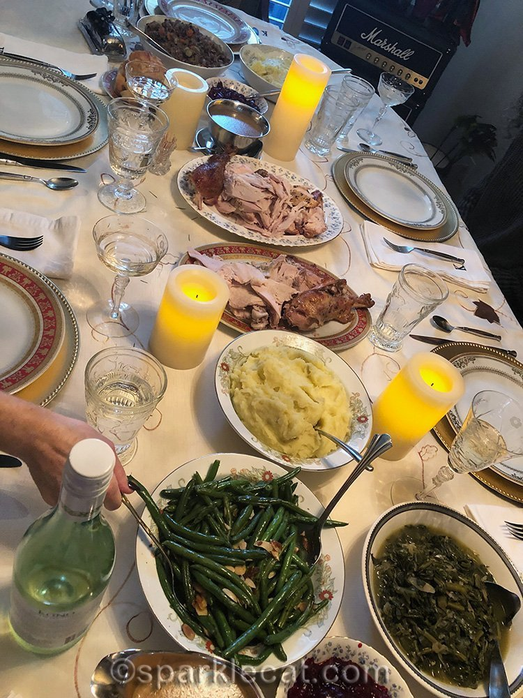 Thanksgiving dinner 2019