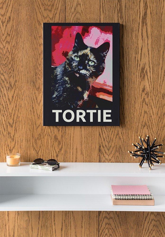 tortie photographic print