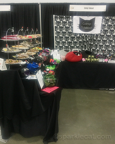 Catnip Takeout booth